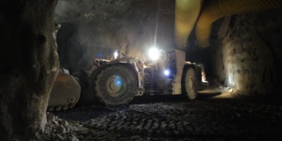 Truck Loader at Byrnecut Palabora Mine, South Africa
