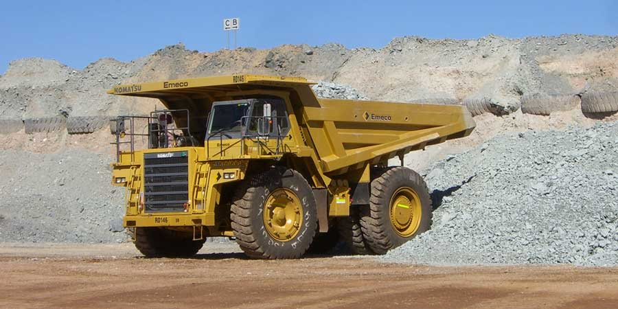 Komatsu HD605, Byrnecut mining truck